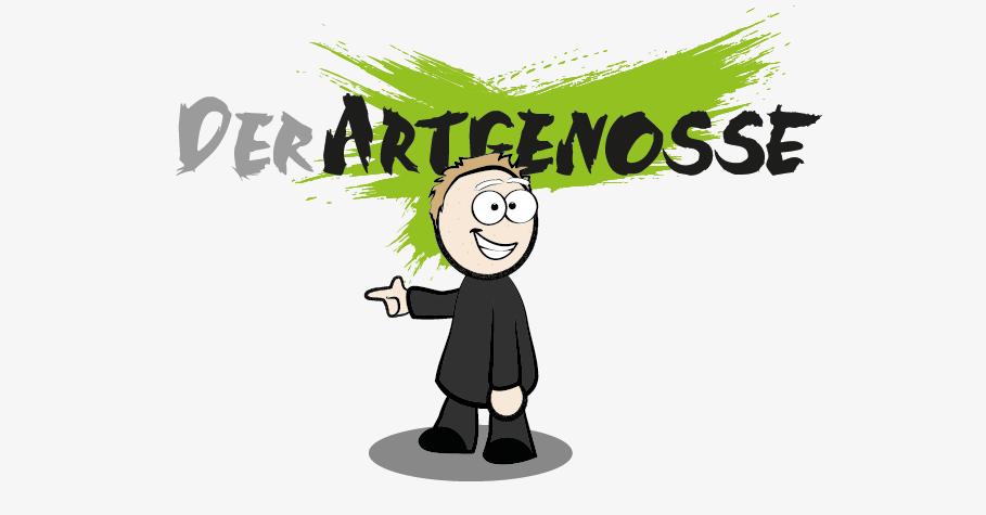 Der Artgenosse Logo mit Avatar