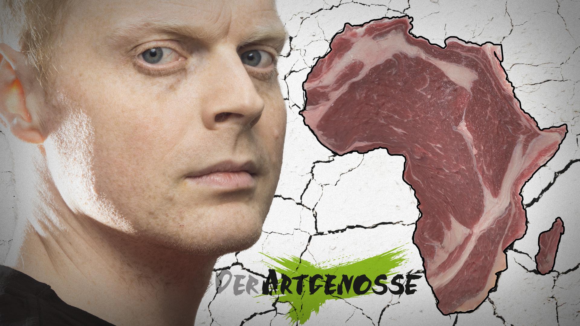 """Hey Veganer, """"die Kinder in Afrika"""" wären froh, wenn sie Fleisch hätten!"""